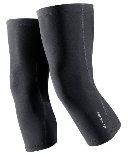 VAUDE Knielinge Knee Warmer, Black, XS, 03351 - 4