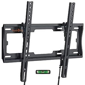 Soporte de TV Perlegear - Soporte de TV en Pared Inclinable para Televisores de 26 a 55 Pulgadas con Carga de 45 kg, VESA máx. De 400 x 400 mm