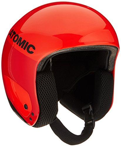 Atomic, Casque de Ski de Course, Pour Homme/Femme, Conforme aux Normes de Sécurité, Redster Replica, Taille XS, Tour de Tête 53,5-54,5 cm, Rouge/Noir, AN5005424XS
