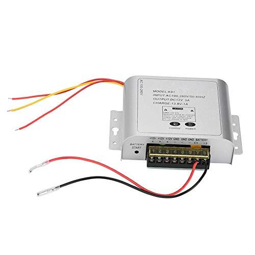 Fuente de alimentación conmutada de 12 V, Fuente de alimentación conmutada, Fuente de alimentación para Monitor CCTV Aleación de Aluminio Fuerte para el hogar