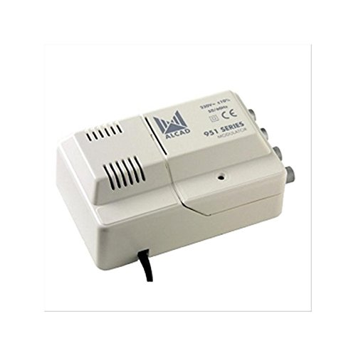 Alcad MD410 Modulador UHF multinorma, para sistemas de videoportero Alcad