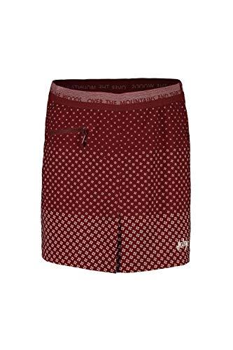 Maloja W Pischam. Multisport Skort Rot, Damen Röcke, Größe M - Farbe Maroon Clover