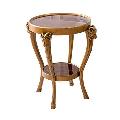 Tables basses Tables Table Basse Table Téléphonique Bureau Table Magazine Table en Verre Côté Nord du Tribunal Salon Table Téléphonique Double Balcon Petite Tables de Dos de canapé