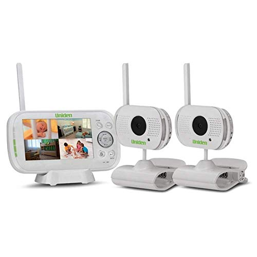 """Uniden - BW 3102 4.3"""" Digital Wireless Baby Video Monitor - with 2 Cameras"""