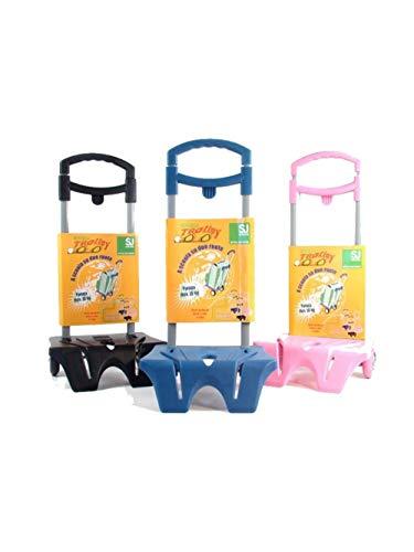 SJ Gang - Easy Trolley Seven Porta Zaino, Portata 15 Kg, Nero