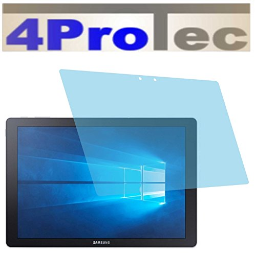 4ProTec 2 Stück GEHÄRTETE ANTIREFLEX Bildschirmschutzfolie für Samsung Galaxy TabPro S Displayschutzfolie Schutzhülle Bildschirmschutz Bildschirmfolie Folie