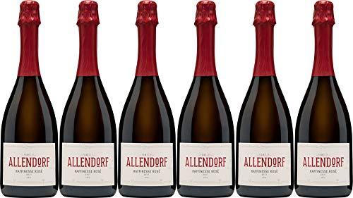 Allendorf Raffinesse Rosé Sekt 2015 Brut (herb) (6 x 0.75 l)