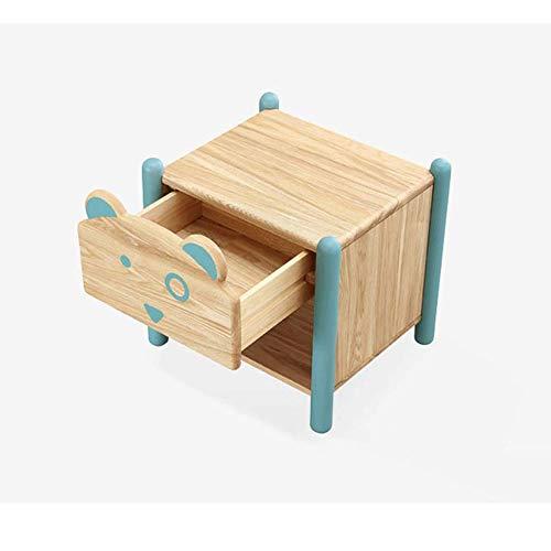 LRZS Mobili Per Bambini Dans Legno Massello Comodino Armadio Camera Ragazzo Piccolo Appartamento Mini