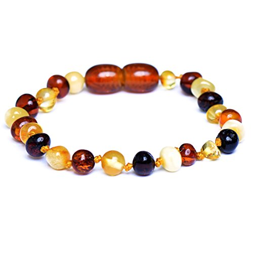 Genuine Baltic Amber Bracelet - Anklet - 100% Authentic Baltic Amber - Handmade Jewelry (15)