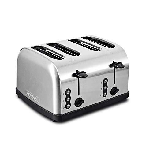 Grille Pain Inox 3 Fonctions Quatre Fentes Family_toastxl_inox De Kitchencook