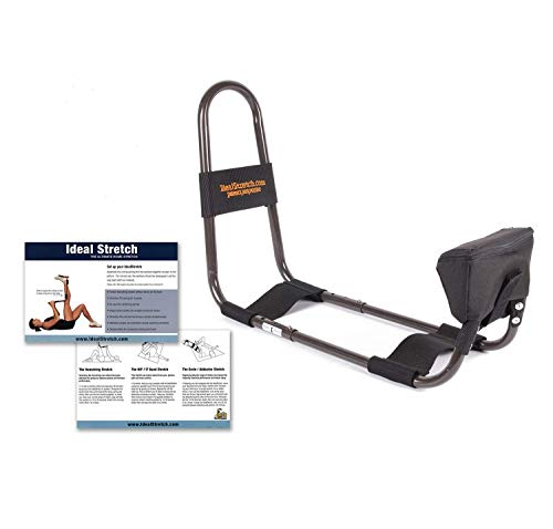 IdealStretch Wedge Combo- Hamstring Stretching Device with Instruction Card - Ideal Leg Stretcher, No Need for A Stretching Partner, Maintains Proper Hip Orientation- with Wedge