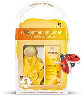 Weleda Babypflege Set - BabycremePflegeölSchmuse-Puppe Limitierte Edition