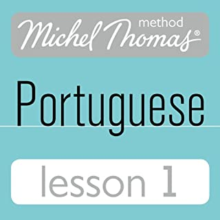 Michel Thomas Beginner Portuguese: Lesson 1 audiobook cover art