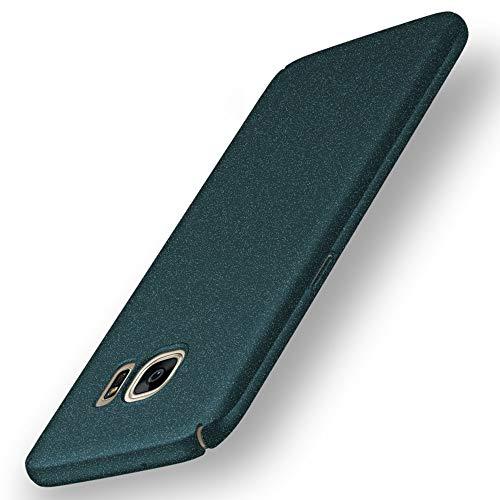 anccer Kompatibel mit Samsung Galaxy S7 Hülle [ultradünn] [Anti-Flecken] [Anti-Drop] Premium Material Slim Full Protection Cover (nicht für Samsung S7 Edge) (Gravel Green)