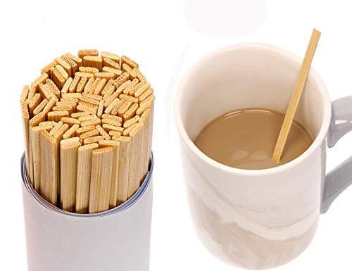 RWB0477-100 Natural Wood Coffee Stirrer Restaurantware 6-100 count box