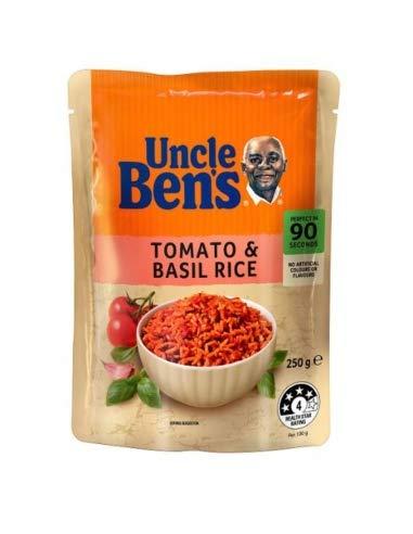 Onkel Bens Express Tomaten- und Basilikumreis 250g
