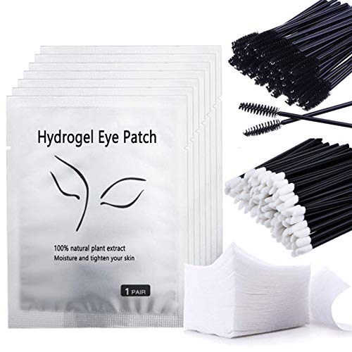 Gel Patches, Aikvigss 50 Paia Extension Ciglia...