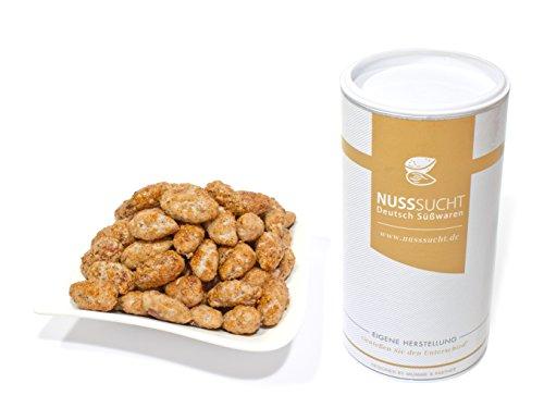 Gebrannte Mandeln, Kirmes- Wiener Mandeln ohne Zusatzstoffe mit wenig Zucker 500gr