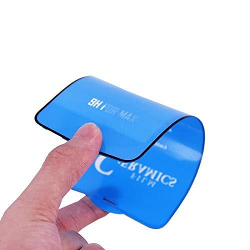 Revive Protector de pantalla flexible flexible para iPhone 7 Plus, iPhone 8 Plus, protector de pantalla de vidrio templado, antigolpes, bordes para (iPhone 7/8 Plus)