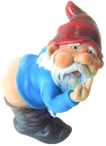 Mooning Gnome Statue by Funny Guy Mugs