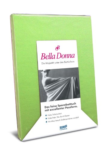 Hoeslaken Bella Donna Jersey voor matrassen & waterbed 140-160 x 200-220 cm in appel