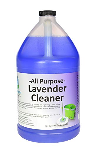 Simply Kleen USA Professional All Purpose Cleaner and Degreaser, Lavender, Concentrated Formula, Bathroom Cleaner, Toilet and Floor Cleaner, 1 Gallon