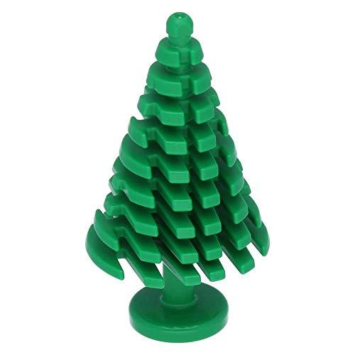 10 x LEGO® Pflanzen, Baum Pinie groß 4 x 4 x 6 2/3 Grün
