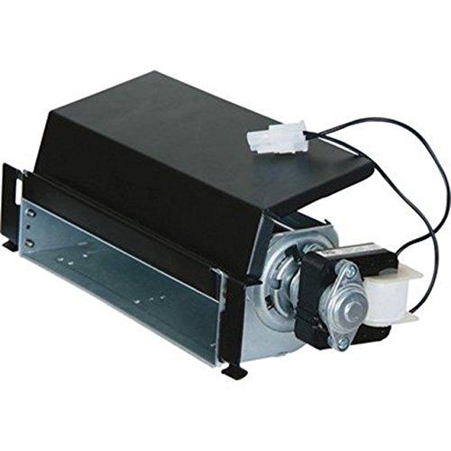 ProCom FIB100 Dual Fuel Fireplace Blower, Large, Black, Silver