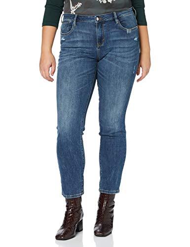 TOM TAILOR Damen Alexa Slim Jeans, Grau (10119-Used Mid Stone Blue), 30W / 30L