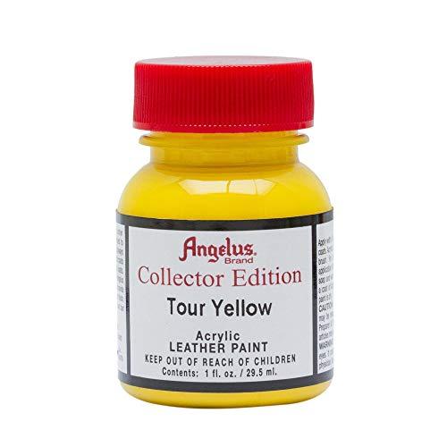Angelus Collector Edition - Color de piel para zapatillas, zapatos, carteras, sillones, 29,5 ml, color amarillo