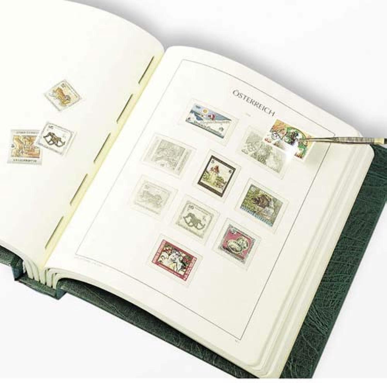 LEUCHTTURM SF-Vordruckalbum sterreich 1945-1979, grün