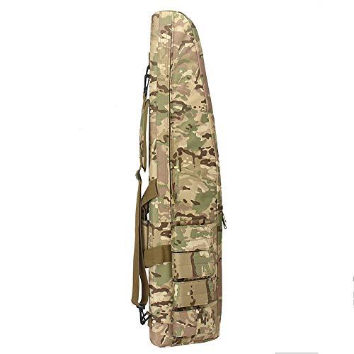 Gexgune 100 cm Military War Game Taktische Waffentasche Durable rutschfeste Wasserdicht Jagdausrüstung Luftgewehr Gewehr Schutztasche Fall (CP)