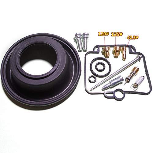 XBFVE Kit de reparación carburador en Forma for el DR350 Ganso 350 Motor monocilíndrico de Mikuni BST40 Configurar vacío de Membrana