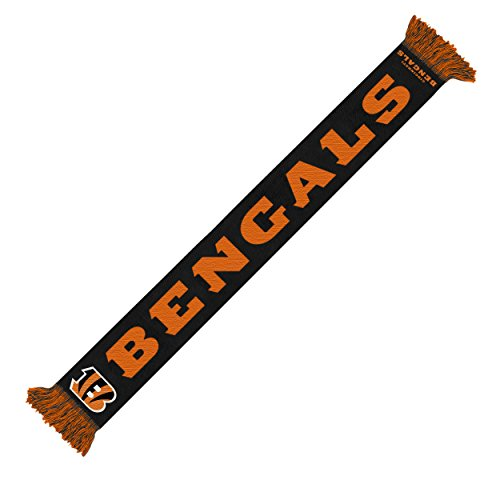 Forever Collectibles Cincinnati Bengals 2014 NFL Wordmark Scarf