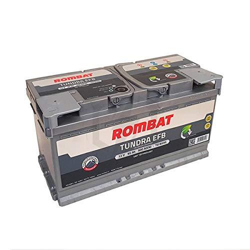 Rombat - Batería para Coche Tundra EFB TEFB595 12V 95Ah 900A