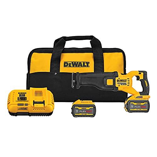 DEWALT FLEXVOLT 60V MAX Reciprocating Saw, Cordless Kit (DCS389X2)