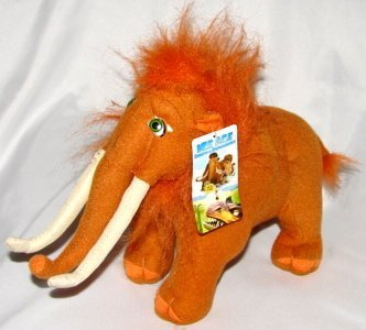 9' Ice Age Dawn of the Dinosaurs Manny Plush