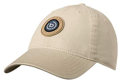 Bugatti Basecap Cap Front Big Sign Logo We Are Europe Baseballcap Baumwollcap beige B763 (Gr. 57/M, 3 - Beige)