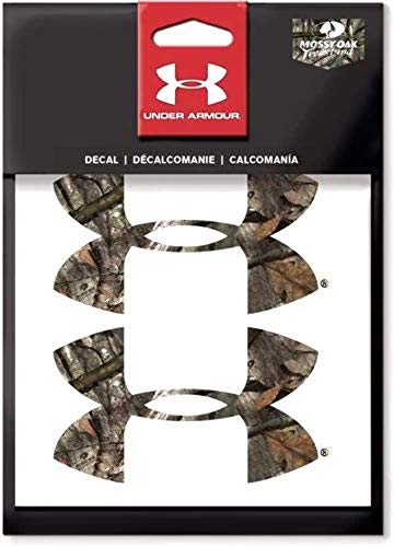 "Preisvergleich Produktbild Under Armour 4"" Logo Decal Mossy Oak Treestand 2pk"
