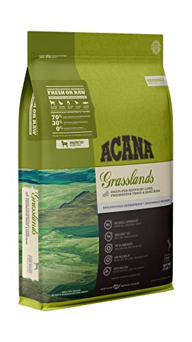 ACANA Regionals Grasslands Recipe, 13lb, Premium High-Protein, Grain-Free Dry Dog Food, Packaging may vary