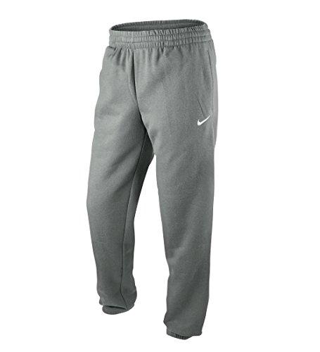 Nike Herren Lange Sporthose Fleece Cuffed Pants, DK Grey Heather/White, M, 404466