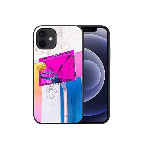 JINGJINGJIAYOU Cajas de teléfono móvil TPU Suave, Cubierta del teléfono de Baloncesto, para iPhone 11 12 Pro XS MAX Mini 7 8 6S Plus X XR-baloncesto5_iphone7 / 8