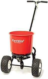 Earthway 2600APlus 40lb. Walk-Behind Broadcast Spreader, Garden Seeder, Salt Spreader w/9-Inch Pneumatic Wheels, Made in America