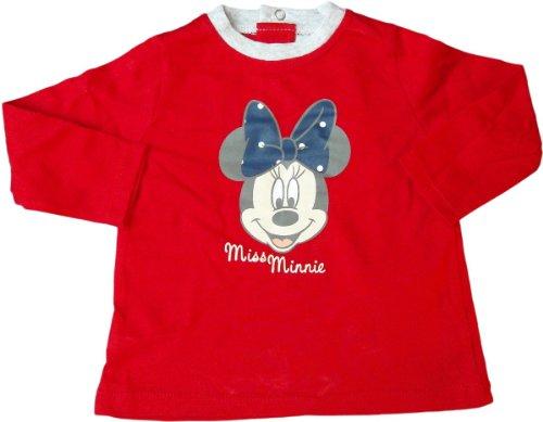 Disney Minnie Maus Baby Langarmshirt - Smiling Minnie Mouse - Rot