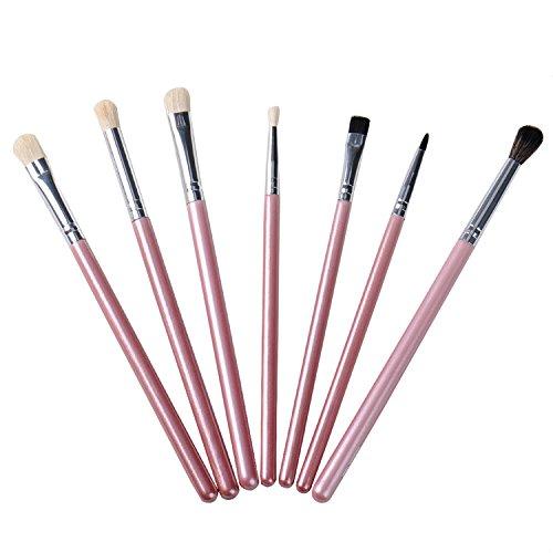 Pro-Set di 7 pennelli da make-up con Eye Tools Brow-Pennello per ombretto