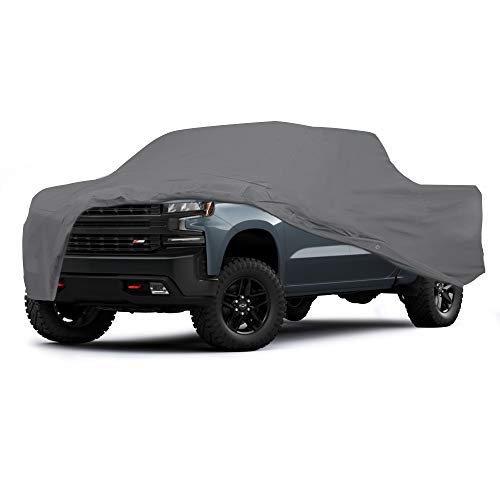 Supreme Semi Custom Pickup Truck Cover for Chevrolet Chevy Silverado 1500 2019 Crew Cab Pickup 6.6 Feet Bed Ultimate Car Guard Waterproof All Weather Durable