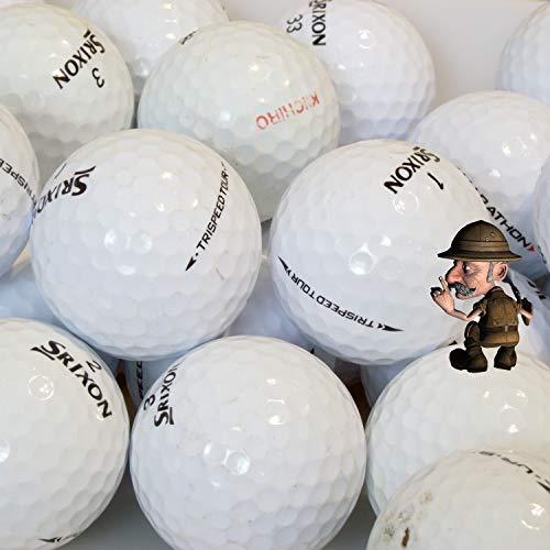 Srixon Golfbälle, Qualität AAA / AA, 50 Stück