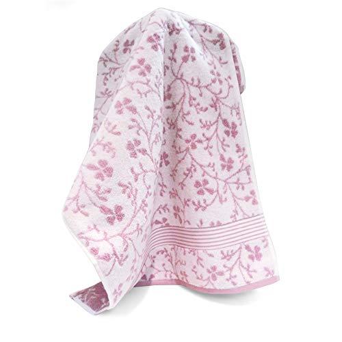Handtuch 40x 60cm Vintage Floral Rosa 550g/m2