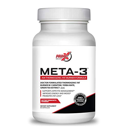 Dr. Eric Prime X Meta-3 AM Thermogenic Keto Fat Burner for Men and Women review