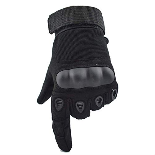 STBB Knieschoner Helm Taktische Handschuhe Militärische Armee Paintball Airsoft Outdoor Sport Schießen Carbon Hard Knuckle Halb/Voller Finger Handschuhe M Black Full